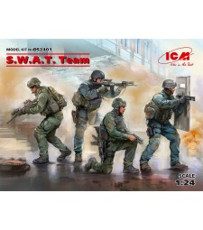1:24 S.W.A.T. Team (4 figures)