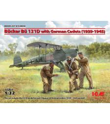 1:32 Bucker Bu 131D with German Cadets (1939-1945)