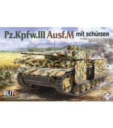 1:35 Pz.Kpfw.III Ausf.M with schürzen