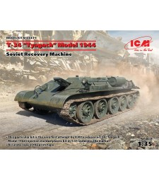 "1:35 T-34 ""Tyagach"" Model 1944, Soviet Recovery Machine"