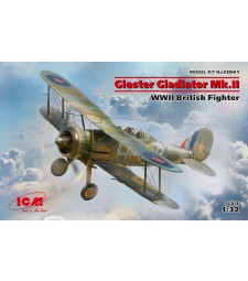 1:32 Gloster Gladiator Mk.II, WWII British Fighter