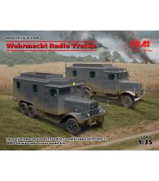 1:35 Wehrmacht Radio Trucks (Henschel 33D1 Kfz.72, Krupp L3H163 Kfz.72)