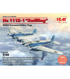"1:48 He 111Z-1 ""Zwilling"", WWII German Glider Tug"
