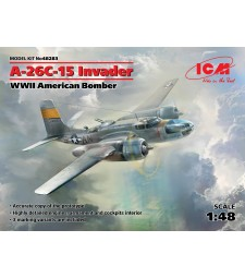 1:48 A-26С-15 Invader, WWII American Bomber