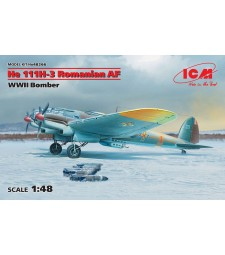 1:48 He 111H-3 Romanian AF, WWII Bomber
