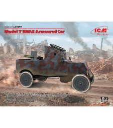 1:35 Model T RNAS Armoured Car (100% new molds)