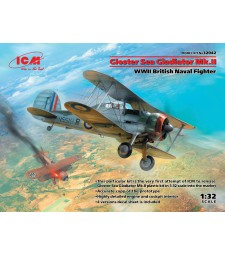 1:32 Gloster Sea Gladiator Mk.II , WWII British Naval Fighter
