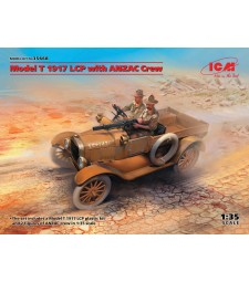 1:35 Model T 1917 LCP with ANZAC Crew