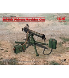 1:35 British Vickers Machine Gun (100% new molds)