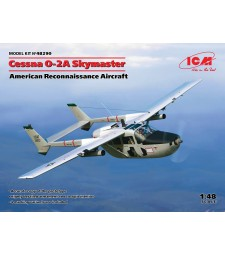 1:48 Cessna O-2A Skymaster, American Reconnaissance Aircraft (100% new molds)