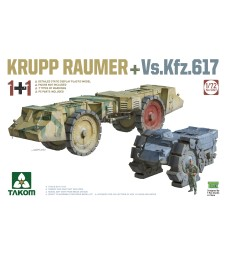 1:72 Krupp Raumer with Vs.Kfz. 617