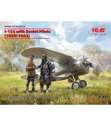 1:32 I-153 with Soviet Pilots (1939-1942)