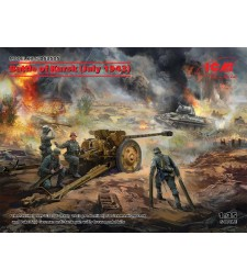 1:35 Battle of Kursk (July 1943) (T-34-76 (early 1943), Pak 36(r ) with Crew (4 figures))