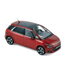 Citroën C4 Picasso 5 places 2013 Ruby red
