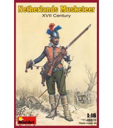 1:16 Netherlands Musketeer. XVII c.