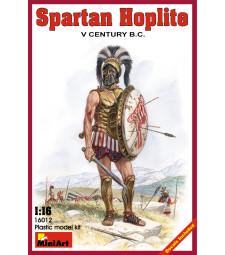 1:16 Spartan Hoplite.  V century B.C.