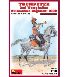 1:16 Trumpeter. 2nd Westphalian Cuirassiers Regiment