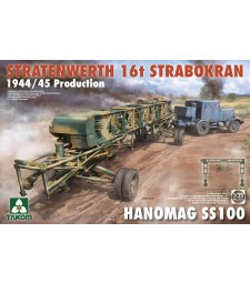 1:35 Stratenwerth 16T Strabokran 1944/45 Production Hanomag SS100