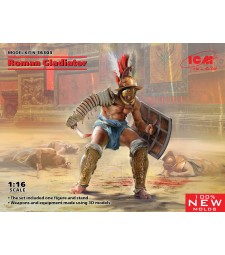 1:16 Roman Gladiator (100% new molds)