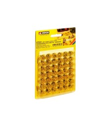 """Grass Tufts XL """"blooming"""" 42 pieces, 9 mm"""