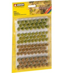 """Grass Tufts """"Field Plants"""" 52 pieces, 6 mm and 52 pieces, 9 mm"""