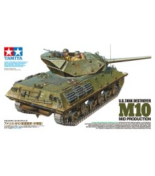 1:35 U.S. TANK DESTROYER M10 MID PRODUCTION - 2 figures