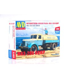 Live fish tanker ACZHR (MAZ-200) - Die-cast Model Kit