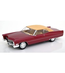 Cadillac DeVille with Softtop 1967 bordeaux-redmetallic Limited Edition 500 pcs.