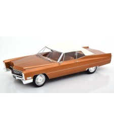 Cadillac DeVille with Softtop 1967 golden-brownmetallic Limited Edition 500 pcs.