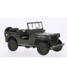 JEEP WILLYS U.S. ARMY 1/4 TON VERSION 1942