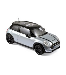 MINI Cooper S 2015 - White Silver Metallic & Black