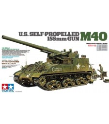 1:35 U.S. Self-Propelled 155mm Gun M40 - 8 figures