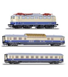 "Passenger coach set ""Rheingold 1"", DB, epoch III"