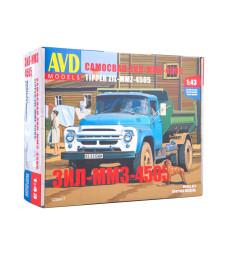 ZIL-4505 dump truck - Die-cast Model kit