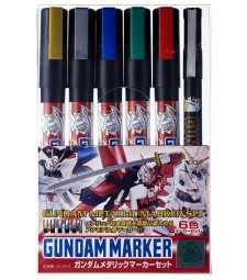 AMS-121 Gundam Metallic Marker Set