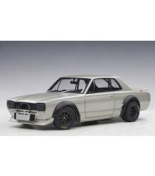 NISSAN SKYLINE GT-R (KPGC-10) RACING 1972 (SILVER)