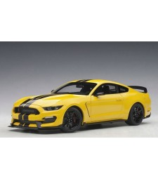 FORD MUSTANG SHELBY GT350R (TRIPLE YELLOW WITH BLACK STRIPES)