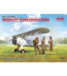 1:32 Stearman PT-17 with American Cadets