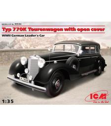 "1:35 Typ 770K Tourenwagen Soft Top, WWII German Leader""s Car"