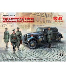 1:35 Typ 320 (W142) Saloon with German Staff Personnel