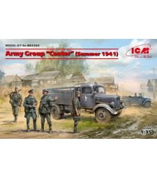 "1:35 Army Group ""Center"" (Summer 1941) (Kfz.1, Typ L3000S, German Infantry (4 figures), German Drivers (4 figures))"