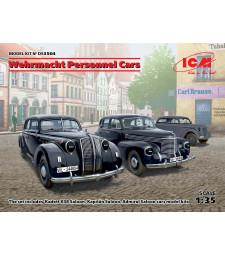 1:35 Wehrmacht Personnel Cars (Kadett K38 Saloon, Kapitan Saloon, Admiral Saloon)