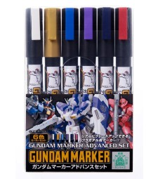 AMS-124 Gundam Marker Advanced Set