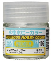 H-102 Premium Clear Semi-Gloss (10 ml)