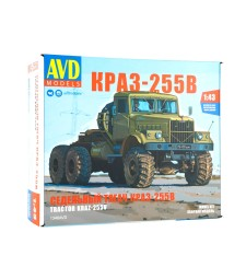 KRAZ-255B tractor truck - Die-cast Model Kit