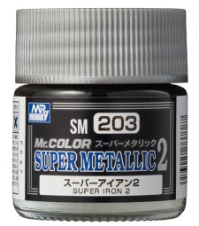SM-203 Mr. Color Super Metallic 2 - Super Iron 2 (10ml)