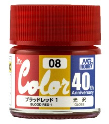 AVC-08 Mr. Color 40th Anniversary Edition Russian Blood Red I (10ml)