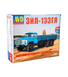 ZIL-133GJA flatbed truck - Die-cast Model Kit