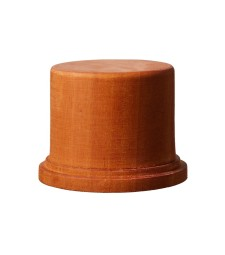 DB-003 Wooden Base Round M dia.70 x H53 mm / top dia.60 mm