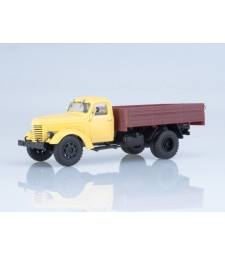 ZIS-150 Flatbed Truck, Yellow-Brown